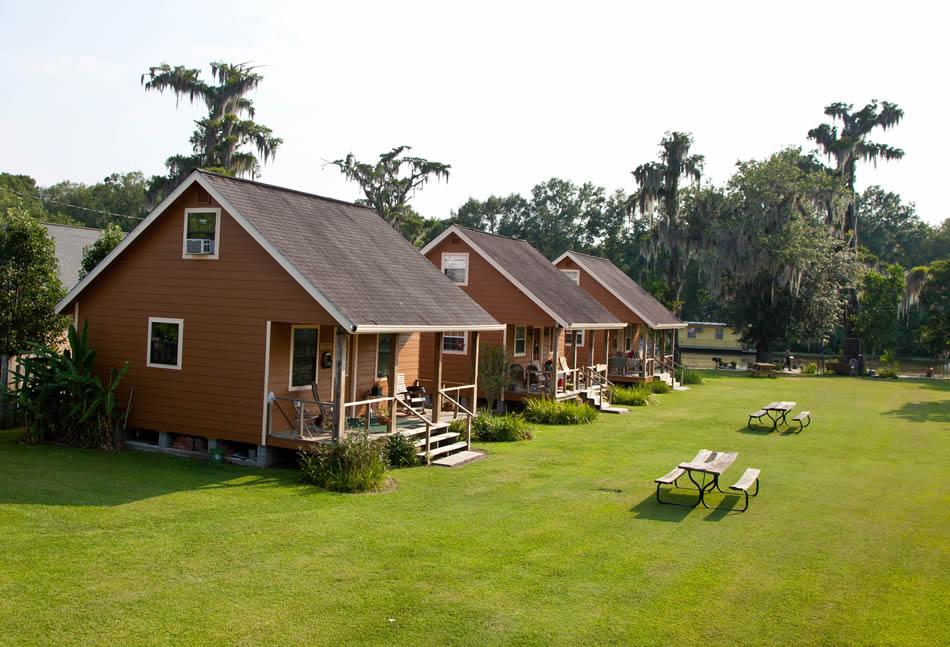 Cajun cabins of bayou corne louisiana for Cajun cottages