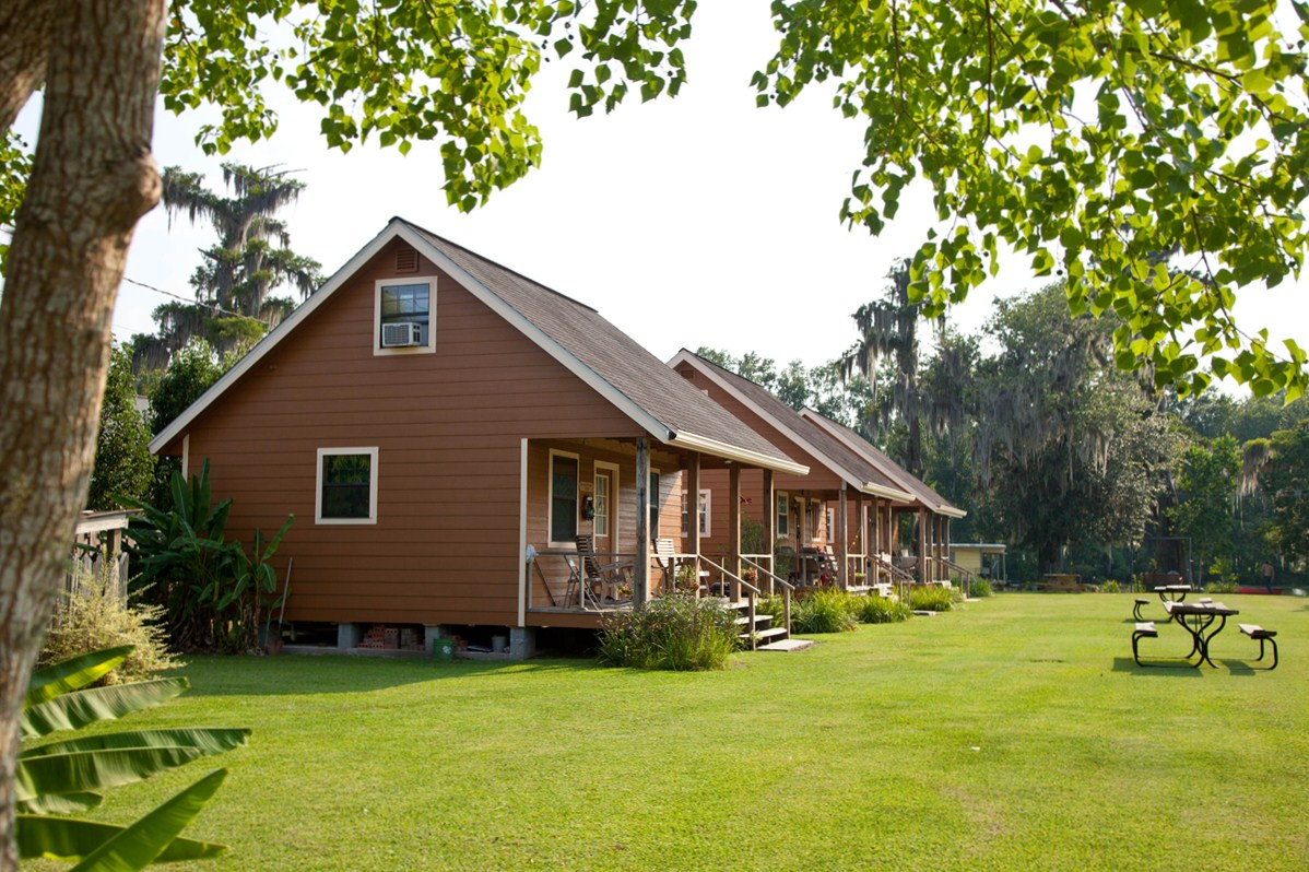 Cajun cabins of bayou corne louisiana for Cajun cottages